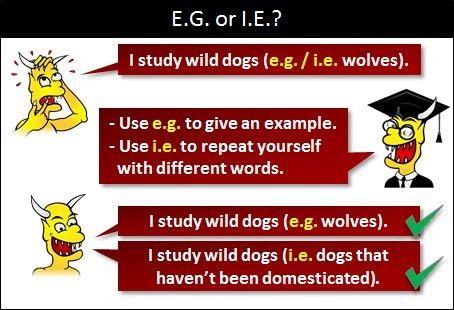 e.g. or i.e.?