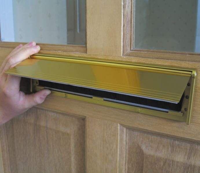 Door Letterbox Cover U0026 Mail Catcher: Door Slot Basket Letterbox .
