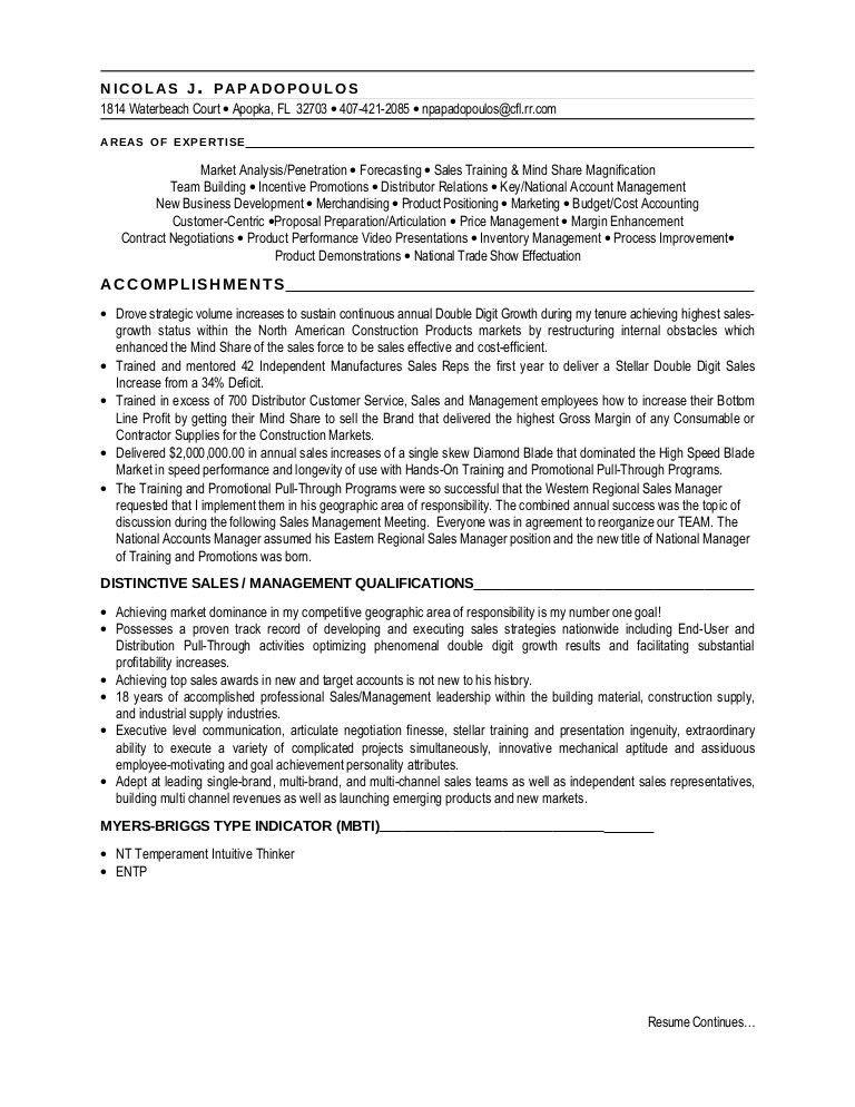 Nick,s Resume 2009