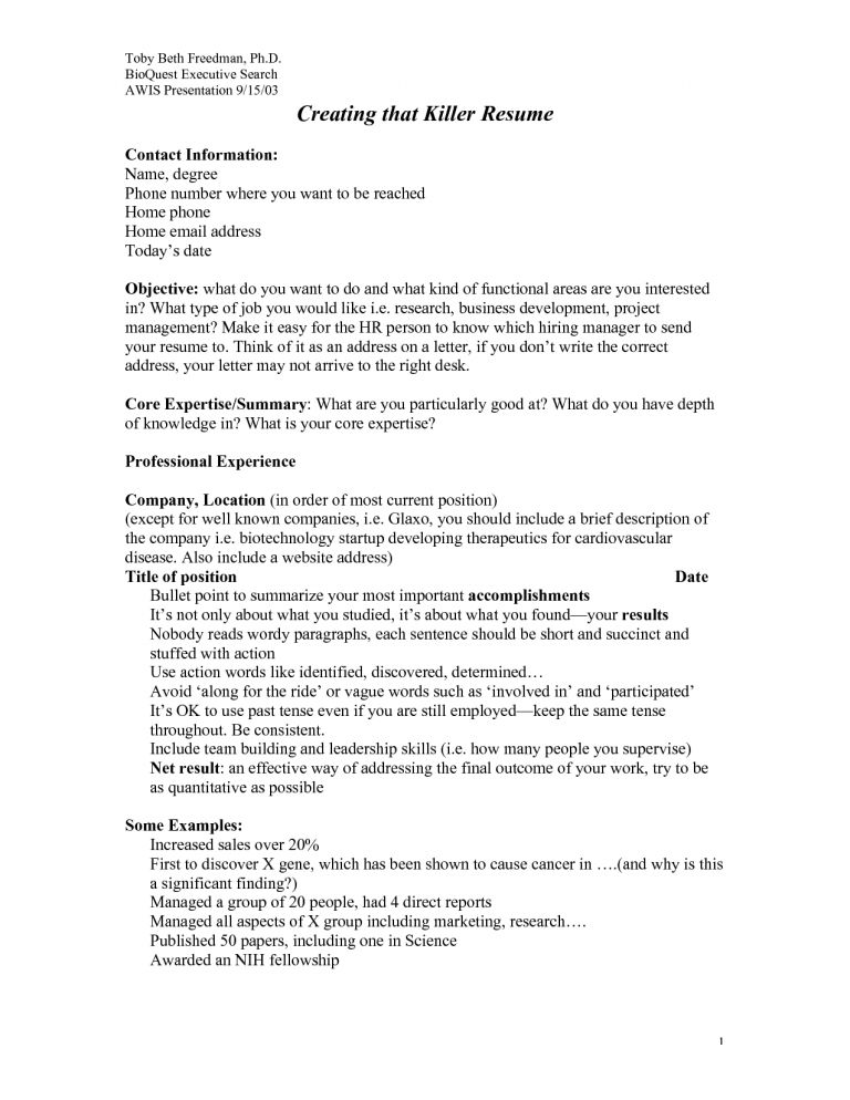 Skillful Design How To Write A Killer Resume 11 Cover Letter Cv ...