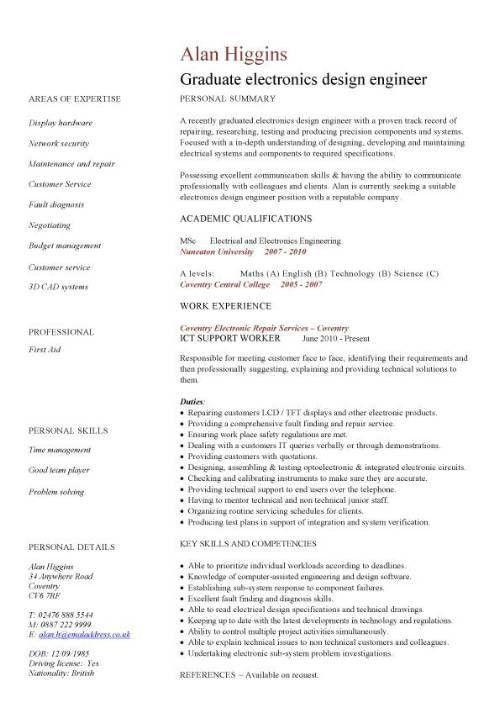 Download European Design Engineer Sample Resume ...
