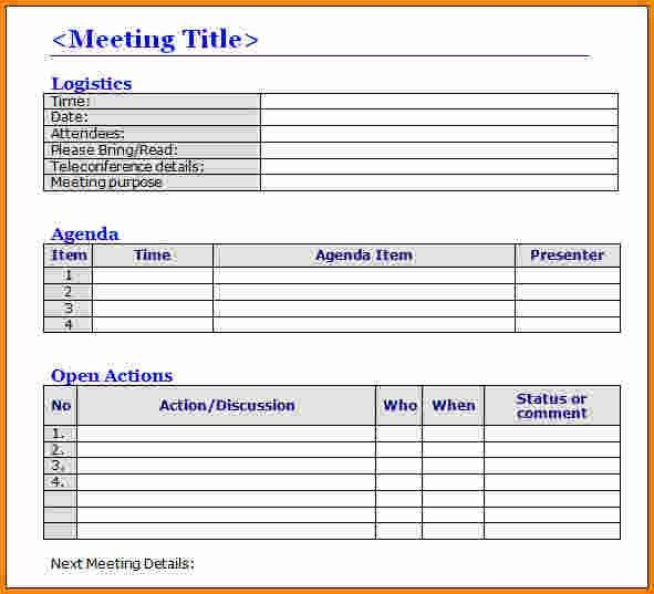 7+ meeting minutes template word | memo templates