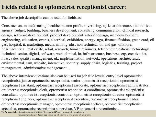 optometrist job description optometrist job description