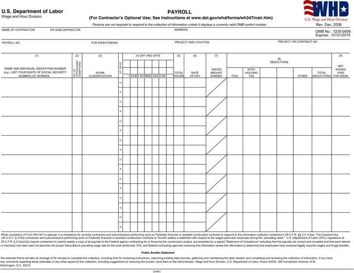 Payroll Templates | Download Free & Premium Templates, Forms ...