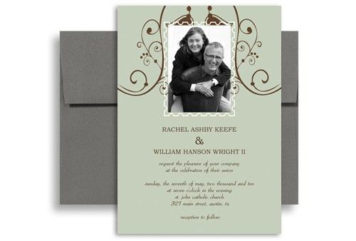 Publisher Wedding Invitation Templates - Wedding Invitation Sample