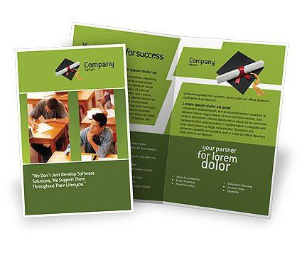 Certificate of Degree Brochure Template Design and Layout ...