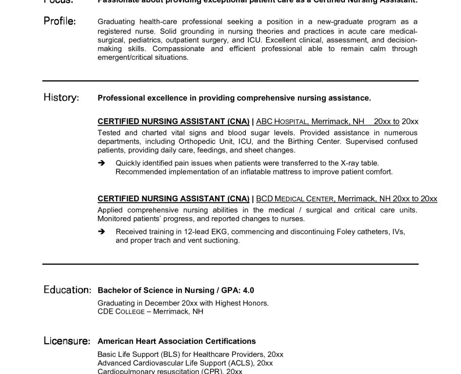 cna skills and qualifications. resume samples for cna entry level ...