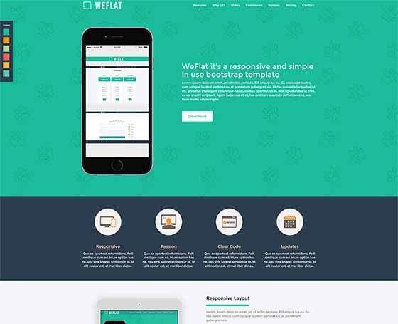 6 Landing Page Templates (themes) | Gridgum