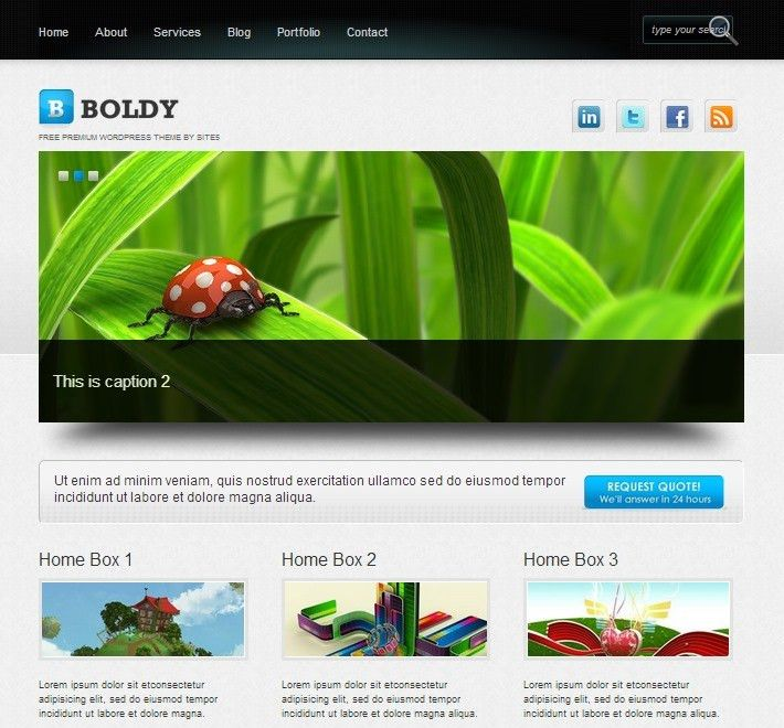 WordPress Website Templates - vnzgames