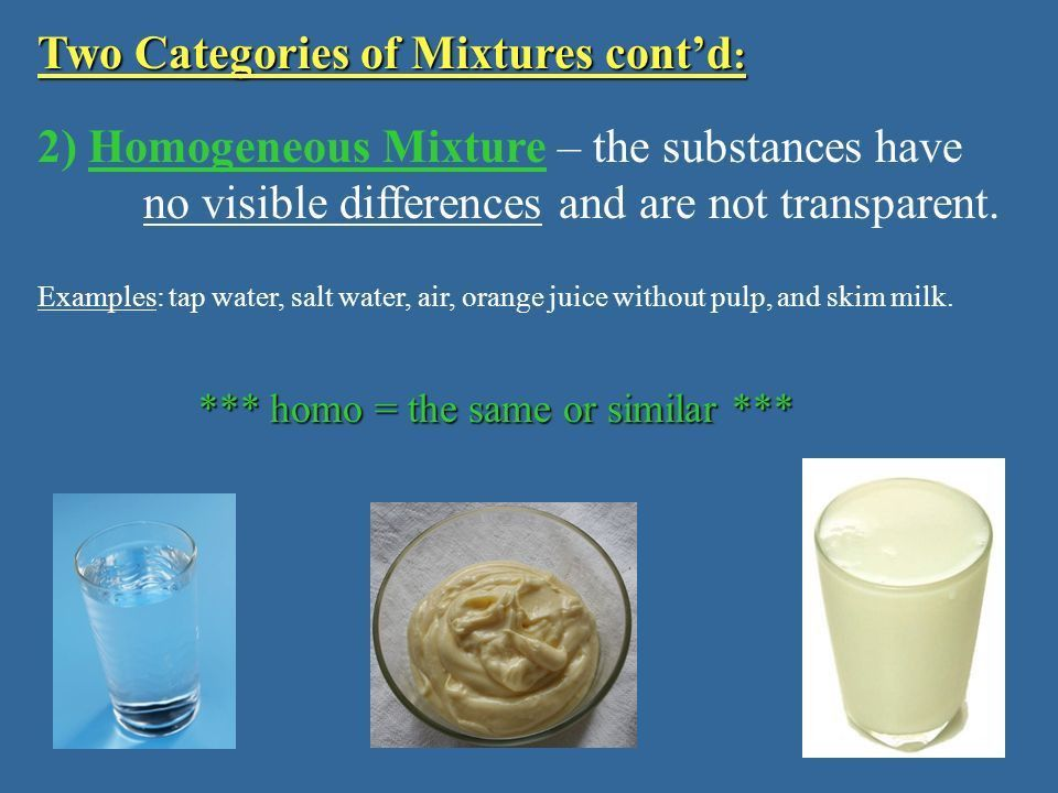 Matter Mixtures Pure Substances Elements Compounds Heterogenous ...