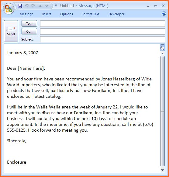 10+ email sales template - Budget Template Letter