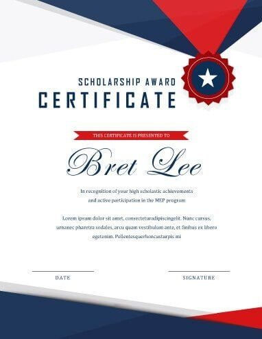 Examples Of Award Certificates | Pitch.billybullock.us