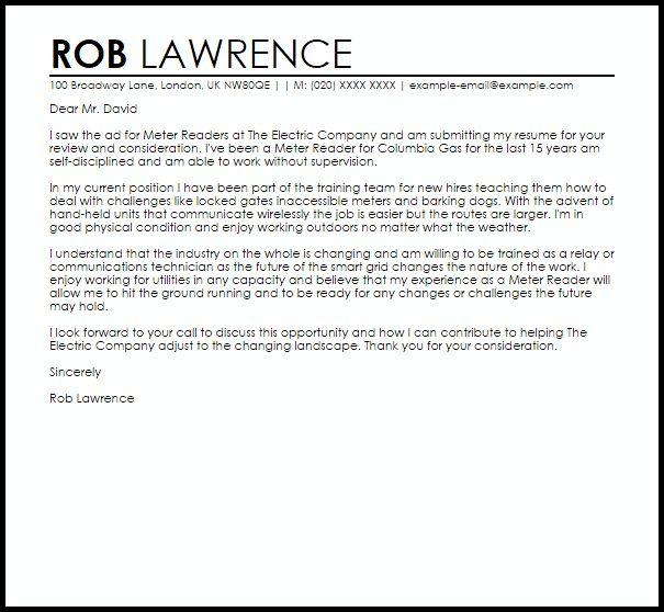 Landscape Technician Cover Letter