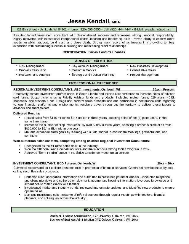 25 + Resume Samples for Investment Banker Position : Vinodomia