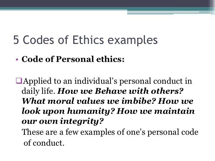 Codes of Ethics in Media
