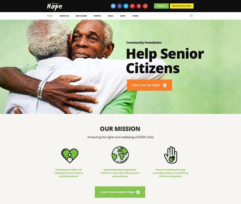24+ Best Charity WordPress Themes 2017 - WebCreate.Me