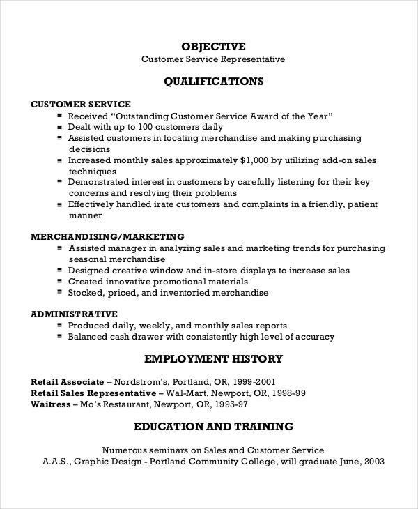 Free Sales Resume - 47+ Free Word, PDF Documents Download | Free ...