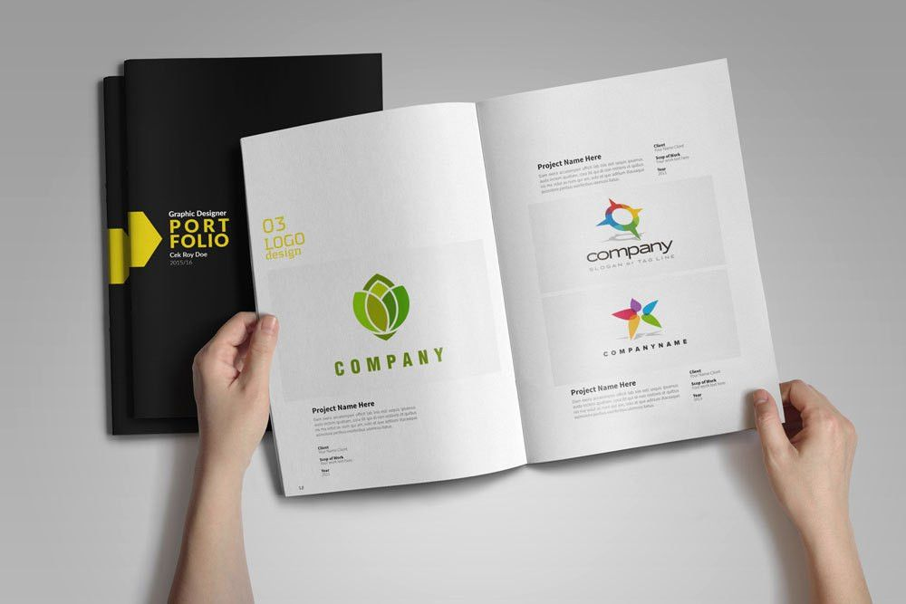 Graphic Designer Portfolio Template - Free Design Resources