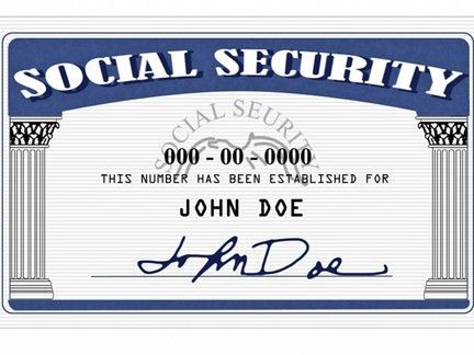 Social Security Number — Michigan ID Help
