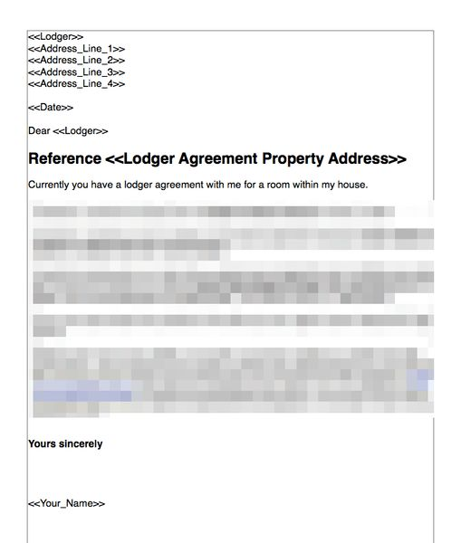 Terminate a Lodger Agreement Where There is a Breach   GRL ...