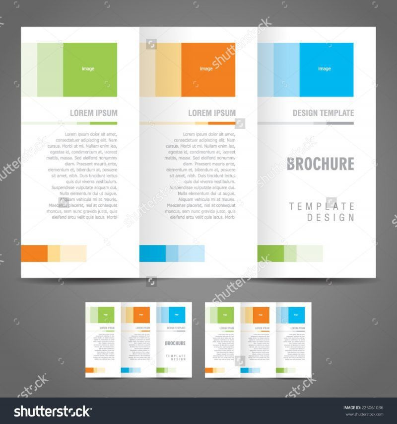 One Page Brochure Template | Professional Templates