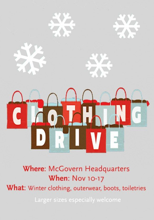 2014 Winter Clothing Drive | McGovern Institute for Brain Research ...