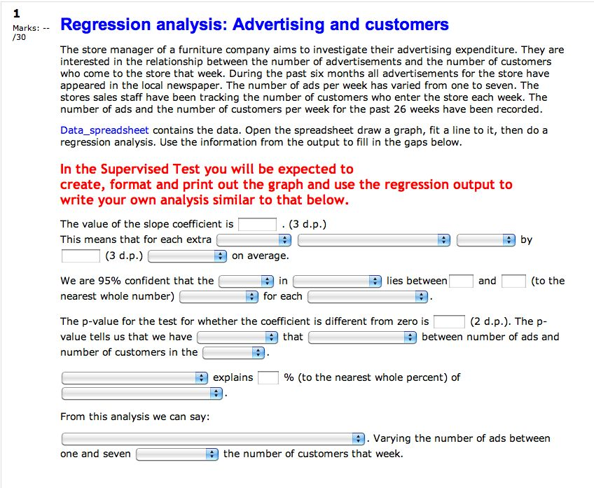 Templates for statistical reports – spoon-feeding? | Learn and ...