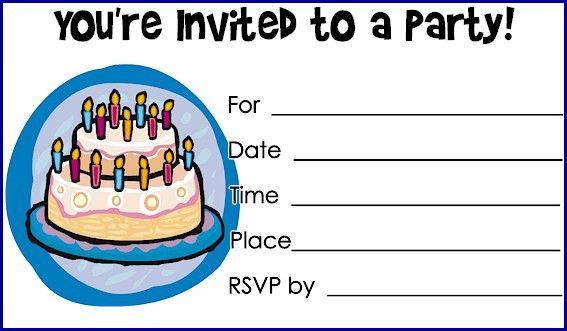 Printable Birthday Invitations - dhavalthakur.Com