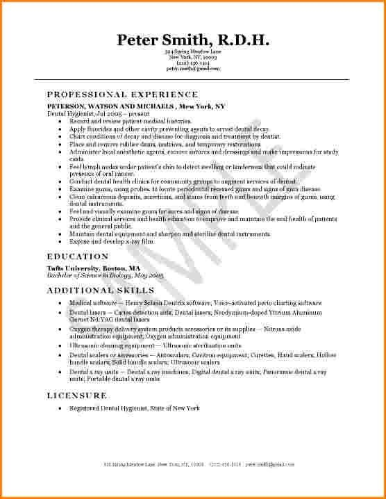 6+ dental hygienist resume | worker resume