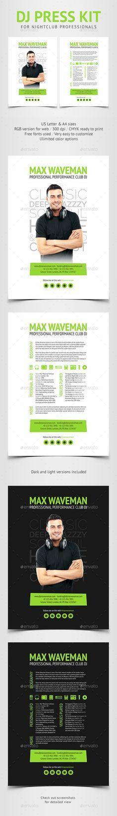 Minimalistix - DJ Press Kit | Press kits, Dj and Brochures