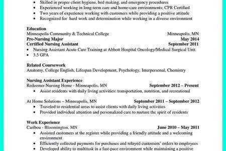 certified nursing assistant and Typical Job Description For A CNA ...
