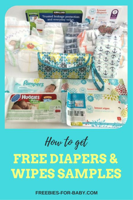 How to Get Free Diaper Samples + Wipes Samples