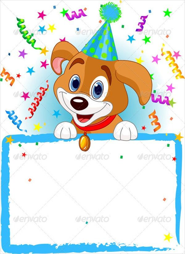 14+ Animal Birthday Invitation Templates - Free Vector EPS,JPEG ...
