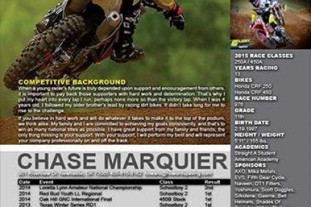 Motocross Sponsorship Resume Example, Motocross Resume Best ...