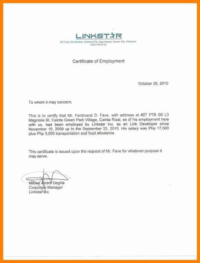 10+ certificate of employment | buyer resume