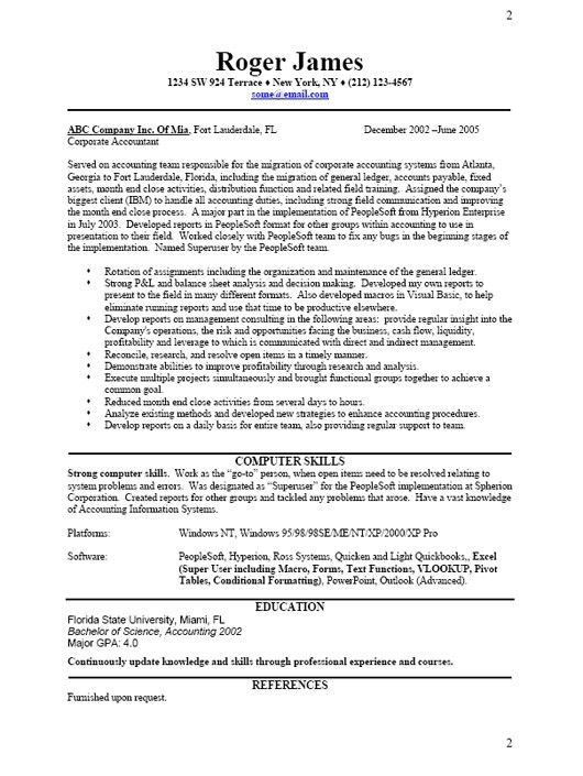 Business Resume Template Free. Resume Template Word Templates For ...