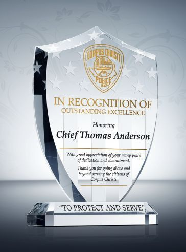 Unique Police Recognition Plaques and Sample Wordings | DIY Awards