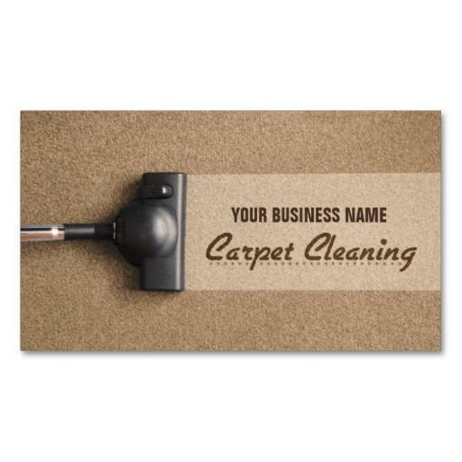 Carpet Cleaner Business Cards - Carpet Vidalondon