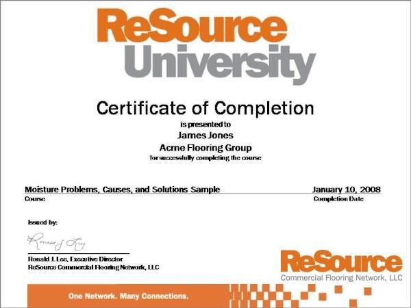 Course Certificate Samples (WebOffices New)