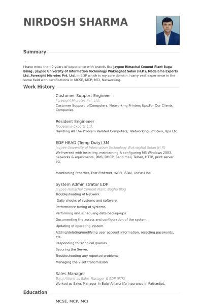 Customer Support Resume samples - VisualCV resume samples database