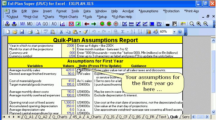 Download Business Plan Software, Template, Financial Projections ...