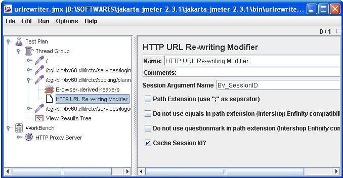 HTTP URL Re-writing Modifier |
