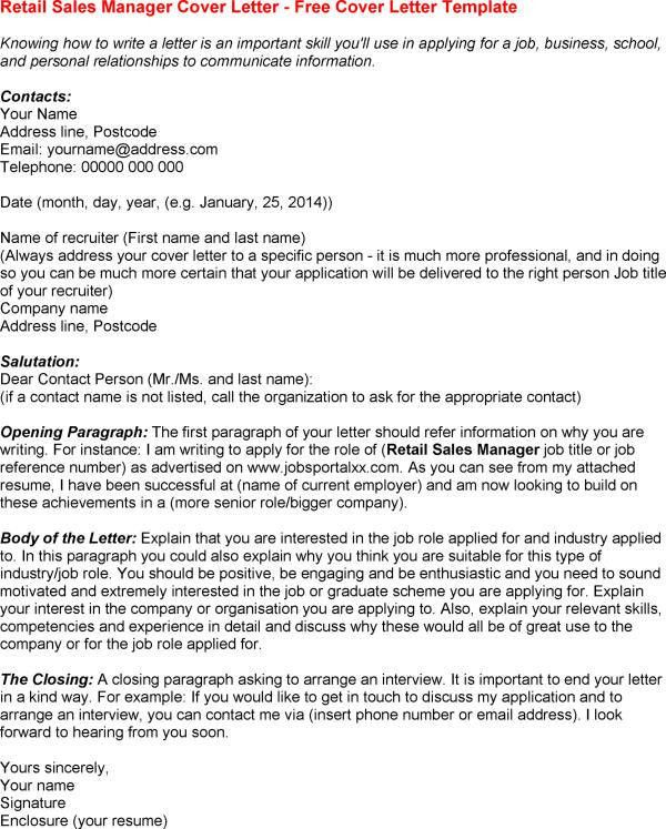 sales associate cover letter sample retail sales associate resume ...