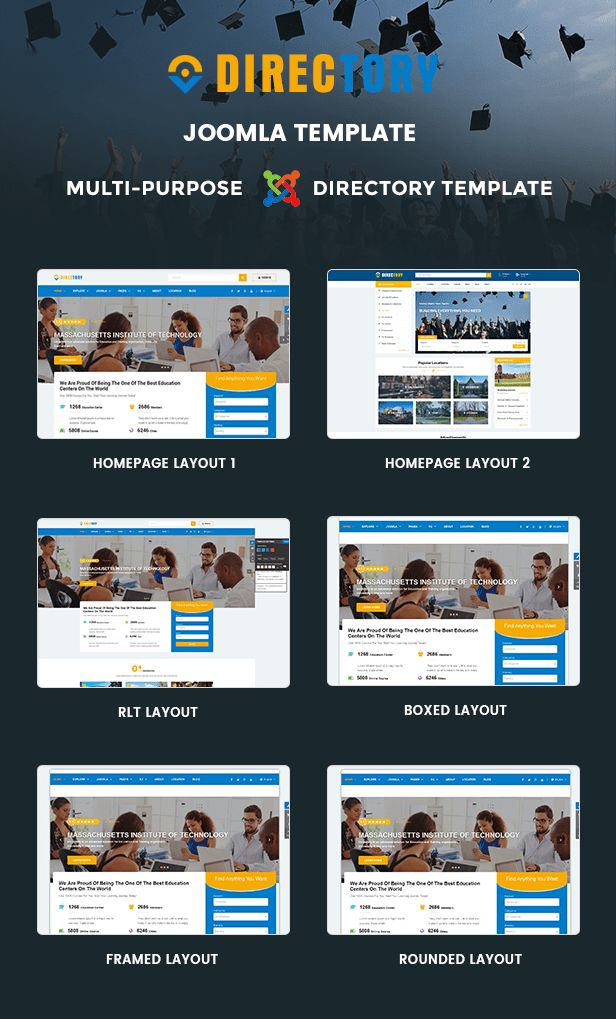 Directory - Responsive Ultimate Directory Joomla Template by ...