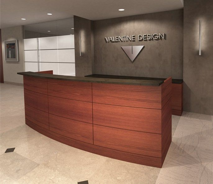 BOW FRONT RECEPTION DESK - Indoff Reception Specialists