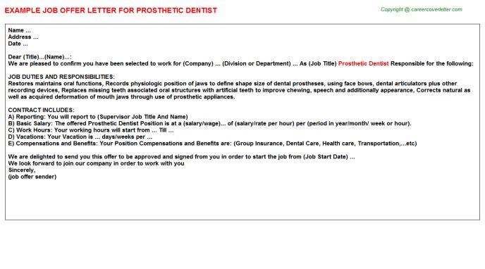 dentist job duties