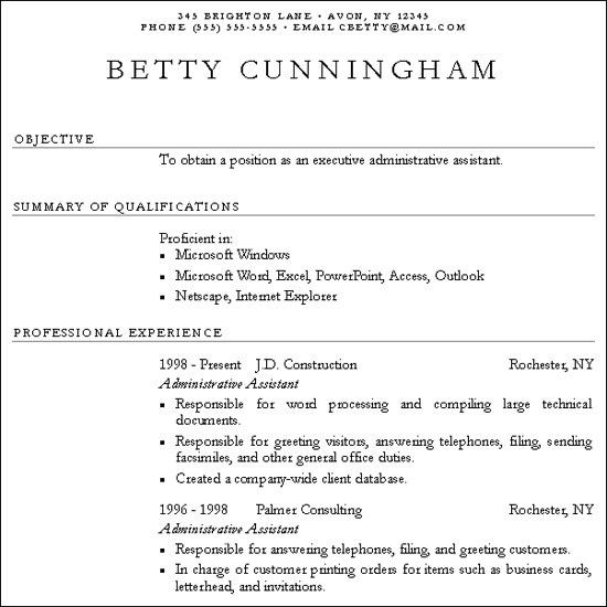 No Job Experience Resume Example. Job Resume Examples No ...