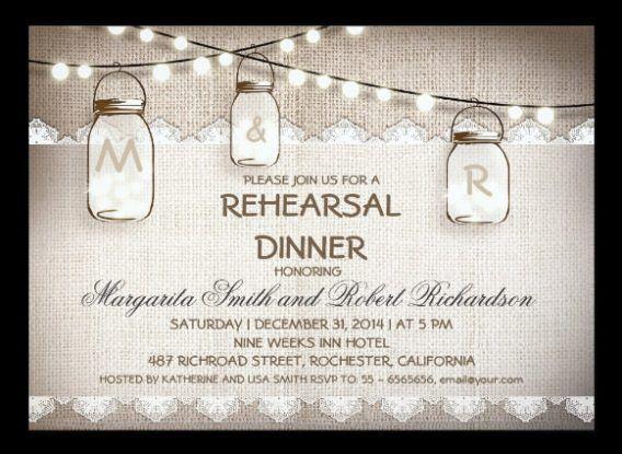 Free Printable Rehearsal Dinner Invitations | cimvitation