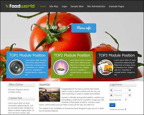 Top rated free responsive joomla templates - Download free joomla ...