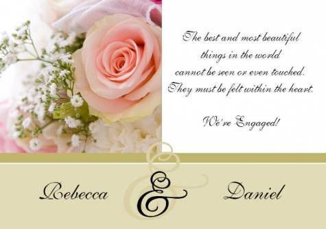 Card Invitation Ideas. Engagement Quotes For Invitation Cards ...